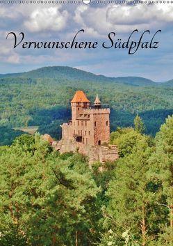 Verwunschene Südpfalz (Wandkalender 2019 DIN A2 hoch) von Janke,  Andrea