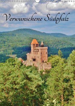 Verwunschene Südpfalz (Wandkalender 2019 DIN A3 hoch) von Janke,  Andrea