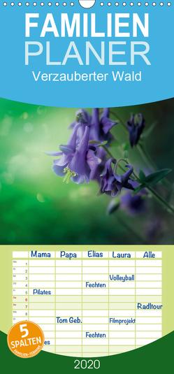 Verzauberter Wald – Familienplaner hoch (Wandkalender 2020 , 21 cm x 45 cm, hoch) von Wunderlich,  Simone