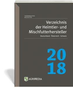 Verzeichnis der Heimtier- und Mischfutterhersteller D/A/CH 2018