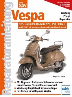 Vespa GTS- und GTV-Modelle 125, 250, 300 i.e. – ab Modelljahr 2005