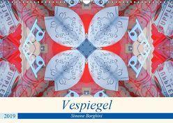 Vespiegel (Wandkalender 2019 DIN A3 quer) von Borghini (Photoinvespa),  Simone
