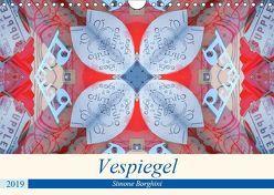 Vespiegel (Wandkalender 2019 DIN A4 quer) von Borghini (Photoinvespa),  Simone
