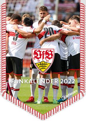 VfB Stuttgart 2022 – Bannerkalender – Fan-Kalender – Fußball-Kalender – 29,7×42