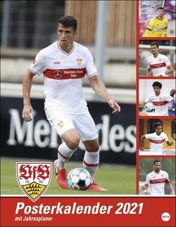 VfB Stuttgart Posterkalender Kalender 2021 von Heye