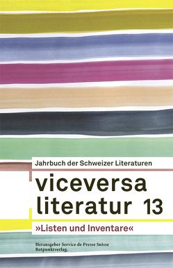 Viceversa 13 von Böhler,  Yvonne, Favre,  Pascale