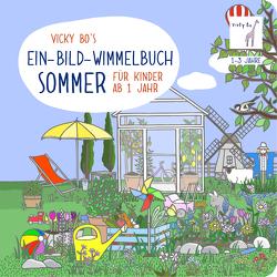 Ein-Bild-Wimmelbuch ab 1 Jahr – Sommer
