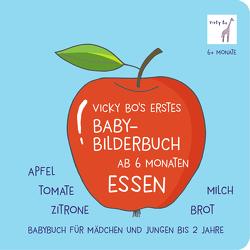 Vicky Bo's erstes Baby-Bilderbuch ab 6 Monaten – Essen