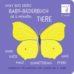 Vicky Bo's erstes Baby-Bilderbuch ab 6 Monaten – Tiere