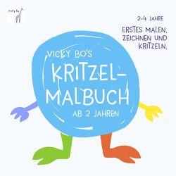 Kritzel-Malbuch ab 2 Jahre von Vicky Bo