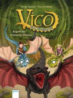 Vico Drachenbruder (2). Angriff des schwarzen Drachen von Grubing,  Timo, Pautsch,  Oliver