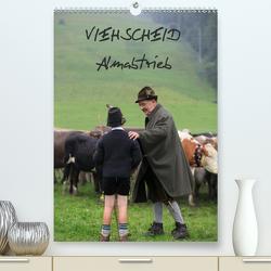 Viehscheid Almabtrieb (Premium, hochwertiger DIN A2 Wandkalender 2021, Kunstdruck in Hochglanz) von www.allg.eu