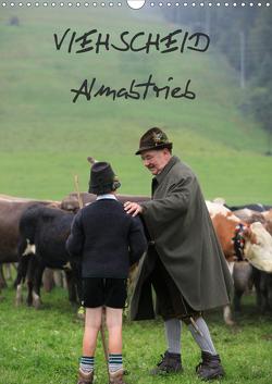 Viehscheid Almabtrieb (Wandkalender 2021 DIN A3 hoch) von www.allg.eu