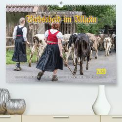 Viehscheid im Allgäu. (Premium, hochwertiger DIN A2 Wandkalender 2020, Kunstdruck in Hochglanz) von Gerlach,  Ingo