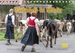 Viehscheid im Allgäu. (Tischkalender 2020 DIN A5 quer) von Gerlach,  Ingo