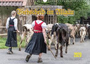 Viehscheid im Allgäu. (Wandkalender 2020 DIN A3 quer) von Gerlach,  Ingo