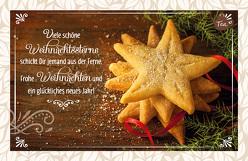 Viele schöne Weihnachtssterne schickt Dir jemand aus der Ferne. Frohe Weihnachten und ein glückliches neues Jahr! von Engeln,  Reinhard