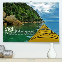 Vielfalt Neuseeland / CH-Version (Premium, hochwertiger DIN A2 Wandkalender 2021, Kunstdruck in Hochglanz) von Schaefer,  Nico