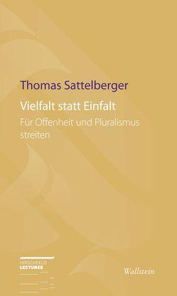 Vielfalt statt Einfalt von Sattelberger,  Thomas