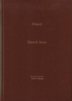 Vielguth von Kunze,  Klaus E