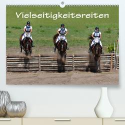 Vielseitigkeitsreiten (Premium, hochwertiger DIN A2 Wandkalender 2021, Kunstdruck in Hochglanz) von van Wyk - www.germanpix.net,  Anke