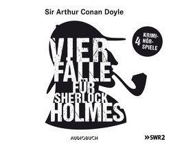 Vier Fälle für Sherlock Holmes (Der adlige Junggeselle, Die einsame Radfahrerin, Die Internatsschule, Der schwarze Peter) von Doyle,  Sir Arthur Conan, Fitz,  Peter, Renneisen,  Walter, u.a.