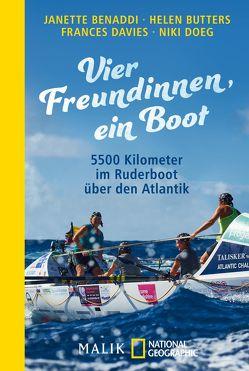 Vier Freundinnen, ein Boot von Benaddi,  Janette, Butters,  Helen, Ciletti,  Mechtild, Davies,  Frances, Doeg,  Niki