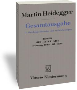 Vier Hefte I und II von Heidegger,  Martin, Trawny,  Peter