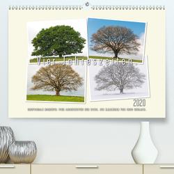 Vier Jahreszeiten der Eiche. (Premium, hochwertiger DIN A2 Wandkalender 2020, Kunstdruck in Hochglanz) von Gerlach,  Ingo