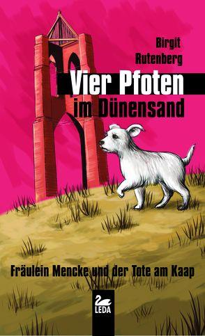 Vier Pfoten im Dünensand von Rutenberg,  Birgit