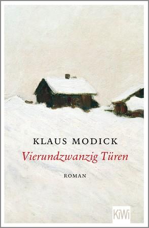 Vierundzwanzig Türen von Modick,  Klaus