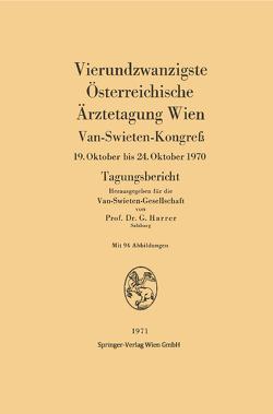 Vierundzwanzigste Österreichische Ärztetagung Wien von Harrer,  Gerhart