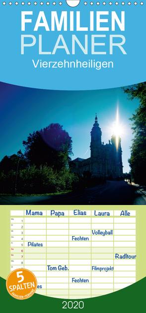 Vierzehnheiligen – Familienplaner hoch (Wandkalender 2020 , 21 cm x 45 cm, hoch) von Gerlach,  Ingo