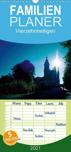 Vierzehnheiligen – Familienplaner hoch (Wandkalender 2021 , 21 cm x 45 cm, hoch) von Gerlach,  Ingo