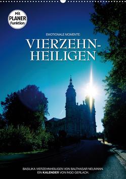 Vierzehnheiligen (Wandkalender 2021 DIN A2 hoch) von Gerlach,  Ingo