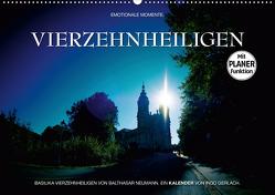 Vierzehnheiligen (Wandkalender 2021 DIN A2 quer) von Gerlach,  Ingo