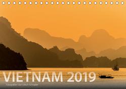 Vietnam 2019 (Tischkalender 2019 DIN A5 quer) von Schrader,  Ulrich
