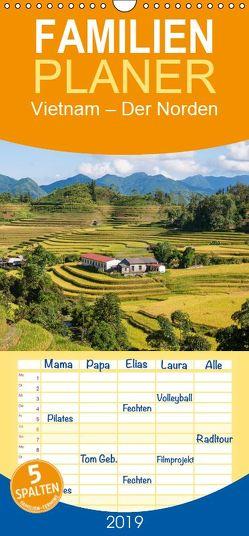 Vietnam – Der Norden – Familienplaner hoch (Wandkalender 2019 <strong>21 cm x 45 cm</strong> hoch) von Ristl,  Martin
