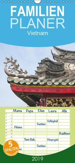 Vietnam – Familienplaner hoch (Wandkalender 2019 , 21 cm x 45 cm, hoch) von Ristl,  Martin