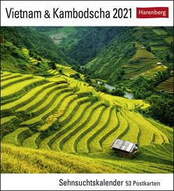 Vietnam & Kambodscha Kalender 2021 von Harenberg
