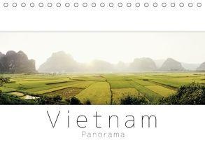 Vietnam Panorama (Tischkalender 2018 DIN A5 quer) von visuell photography,  studio