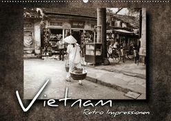 VIETNAM – Retro Impressionen (Wandkalender 2018 DIN A2 quer) von Bleicher,  Renate