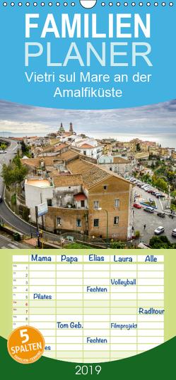 Vietri sul Mare an der Amalfiküste – Familienplaner hoch (Wandkalender 2019 , 21 cm x 45 cm, hoch) von Tortora - www.aroundthelight.com,  Alessandro
