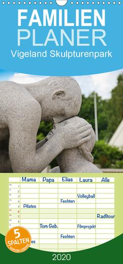 Vigeland – Familienplaner hoch (Wandkalender 2020 , 21 cm x 45 cm, hoch) von Koch,  Andrea