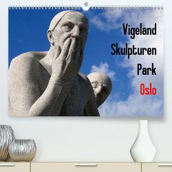 Vigeland Skulpturen Park Oslo (Premium, hochwertiger DIN A2 Wandkalender 2021, Kunstdruck in Hochglanz) von M. Laube,  Lucy