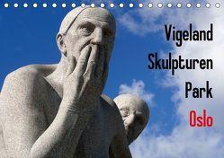 Vigeland Skulpturen Park Oslo (Tischkalender 2018 DIN A5 quer) von M. Laube,  Lucy