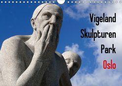 Vigeland Skulpturen Park Oslo (Wandkalender 2018 DIN A4 quer) von M. Laube,  Lucy
