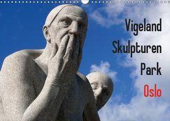 Vigeland Skulpturen Park Oslo (Wandkalender 2019 DIN A3 quer) von M. Laube,  Lucy