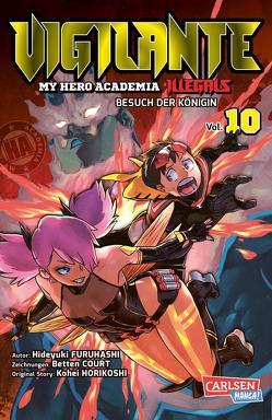 Vigilante – My Hero Academia Illegals 10 von Bockel,  Antje, Court,  Betten, Furuhashi,  Hideyuki, Horikoshi,  Kohei