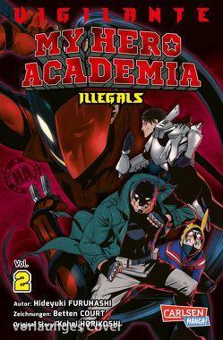 Vigilante – My Hero Academia Illegals 2 von Bockel,  Antje, Horikoshi,  Kohei